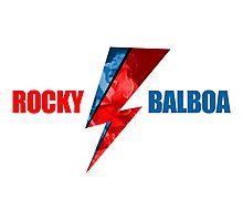 Rocky Balboa David Bowie Mashup Photographic Print