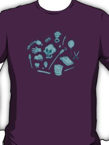 The Curse of Monkey Island Inventory (blue) T-Shirt