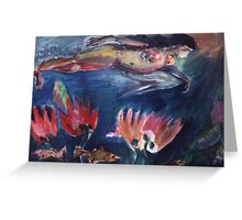 Mermaid(C1995) Greeting Card