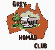 Grey Nomad Club by David Geoffrey Gosling (Dave Gosling)