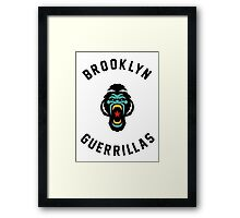 Brooklyn Guerillas Framed Print