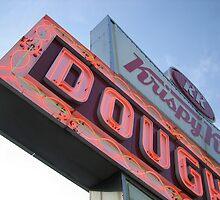 Krispy Kreme Doughnuts Neon Atlanta by Maximus0712