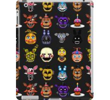 Five Nights at Freddys - Pixel art - Multiple characters iPad Case/Skin