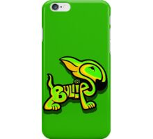 Bullies Letter Character Green and Yellow iPhone Case/Skin