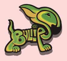 Bullies Letter Character Green and Yellow One Piece - Short Sleeve
