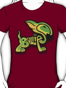 Bullies Letter Character Green and Yellow T-Shirt