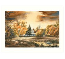 Dorothy Reese Home - After Rain Art Print