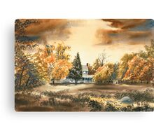 Dorothy Reese Home - After Rain Canvas Print
