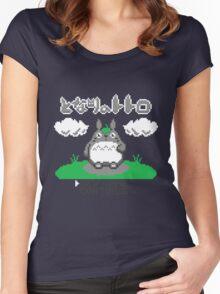 8-Bitoro Women's Fitted Scoop T-Shirt