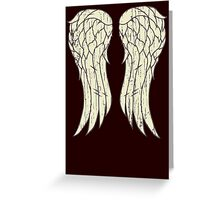 Daryl's Wings Greeting Card