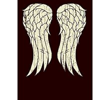 Daryl's Wings Photographic Print