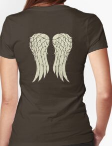 Daryl's Wings Womens Fitted T-Shirt