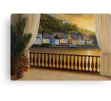 Italian View by Diane Romanello Canvas Print