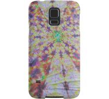 Vivid kaleidoscopic mandala Samsung Galaxy Case/Skin
