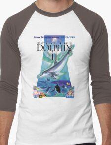 Dolphin Ecco Men's Baseball ¾ T-Shirt
