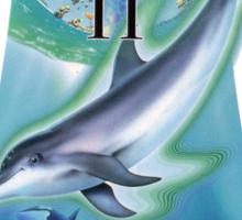 Dolphin Ecco Sticker