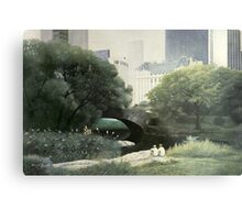 Summer Days(Central Park-New York City) Metal Print