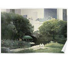 Summer Days(Central Park-New York City) Poster