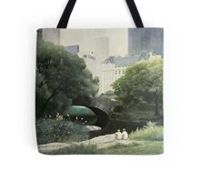 Summer Days(Central Park-New York City) Tote Bag