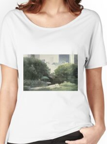 Summer Days(Central Park-New York City) Women's Relaxed Fit T-Shirt