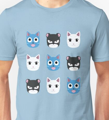 Chibi fairy cats V2 Unisex T-Shirt