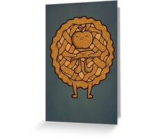 Apple Pi Greeting Card