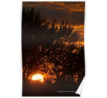 Hidden Sunset | Rocky Point, New York  Poster