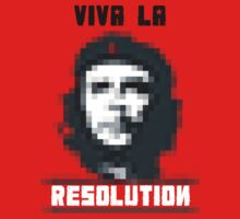 VIVA LA RESOLUTION - white by w1ckerman