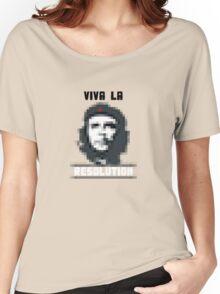 VIVA LA RESOLUTION - white Women's Relaxed Fit T-Shirt