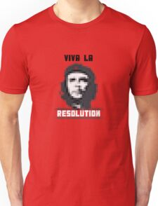 VIVA LA RESOLUTION - white Unisex T-Shirt