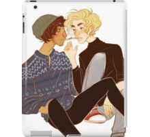 cigarette kiss iPad Case/Skin