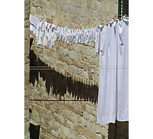 White Washing Photographic Print