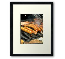 Snags on the Barbie Framed Print