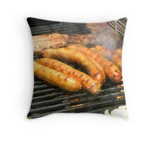 Snags on the Barbie Throw Pillow