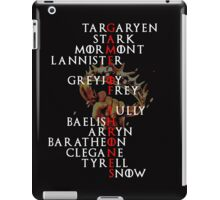 A Game of Crosswords iPad Case/Skin