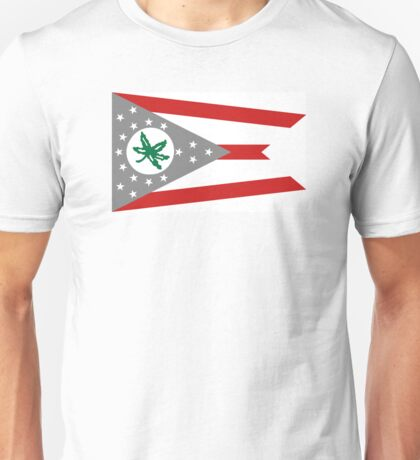 State Flag of Ohio Unisex T-Shirt
