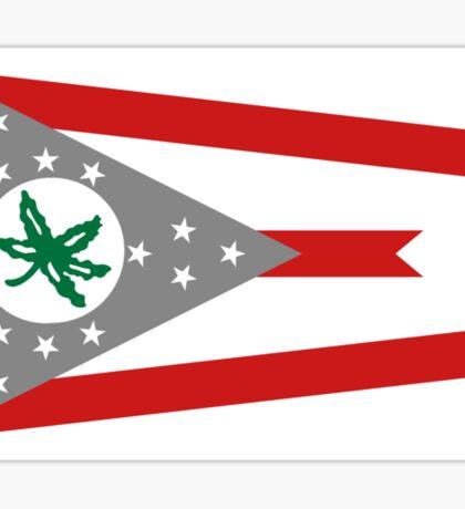 State Flag of Ohio Sticker