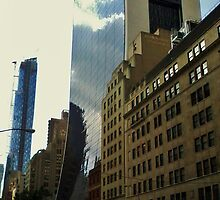Old vs. New - New York  by clarebearhh