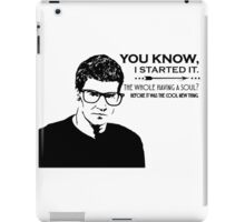 Hipster Angel iPad Case/Skin