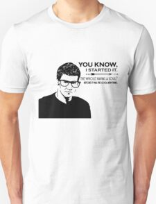 Hipster Angel Unisex T-Shirt