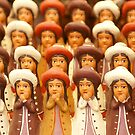 Handmade Indian dolls, by cascoly
