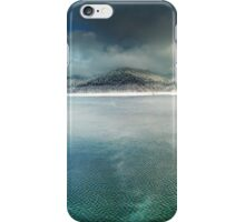 Vidraru lake in the winter, Romania iPhone Case/Skin