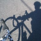 Cycling shadow by stephenwaters