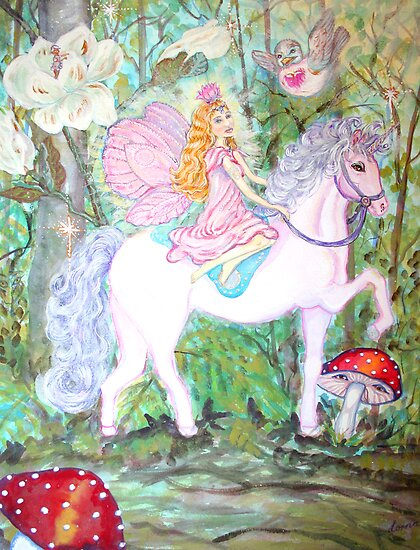 Fairy Forest Patrol by Lorna Gerard