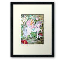 Fairy Forest Patrol Framed Print