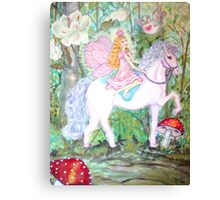 Fairy Forest Patrol Canvas Print