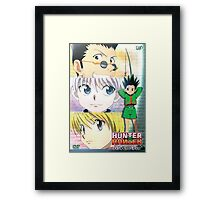 Hunter X Hunter Framed Print