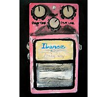 Ibanez Analogue Delay Acrylics On Canvas Board Photographic Print