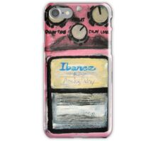 Ibanez Analogue Delay Acrylics On Canvas Board iPhone Case/Skin