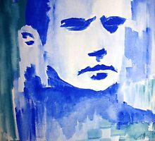 Face Blue by ArtGenovee